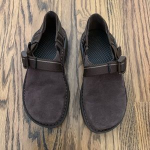 Chaco Pedshed Ecotred Brown Suede Slip on Shoe